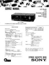 Buy Sony TCM-323 Service Manual. by download Mauritron #245419