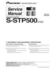 Buy Pioneer S-ST606 Manual by download Mauritron #228157