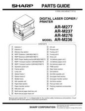 Buy Sharp AR-M451N Parts Guide by download Mauritron #232722