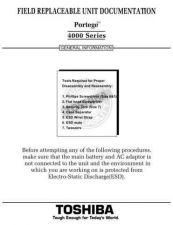 Buy TOSHIBA PORTEGE 4000 by download #109857