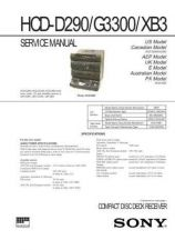 Buy Sony HCD-G3000 Service Manual by download Mauritron #241012