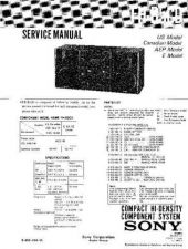 Buy Sony FH-G50-MHC-501-S200 Service Manual by download Mauritron #240756