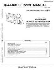 Buy Sharp VL-AH50E Service Manual by download Mauritron #231555