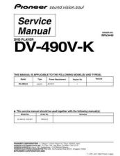 Buy Pioneer DV-3800-S-1 Service Manual by download Mauritron #234401