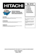 Buy Hitachi C2844S Service Manual by download Mauritron #260516