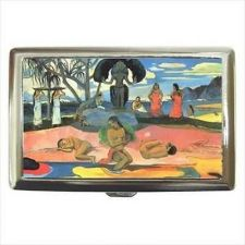 Buy Tahitian Beach Art Cigarette Money Credit Business Card Case