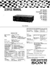 Buy Sony TC-W310 Service Manual. by download Mauritron #245495