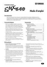 Buy Yamaha EMX640F Operating Guide by download Mauritron #247879