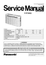 Buy Panasonic pt44lcx65_ind Service Manual by download Mauritron #268310