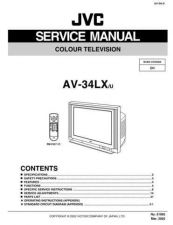 Buy JVC AV-30W475 S Service Manual. On by download Mauritron #269830