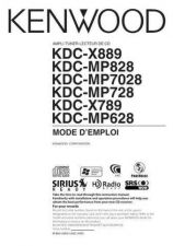 Buy Kenwood KDC-MP728 Operating Guide by download Mauritron #222073