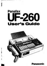 Buy Panasonic UF260 Operating Instruction Book by download Mauritron #236659