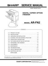 Buy Sharp ARFN5 PG GB Service Manual by download Mauritron #208280