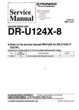 Buy PIONEER DRU124X8 RRV1607 Technical Information by download #119243