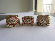 Buy 1982 1987 1991 ONE SET REPLICA CHAMPIONSHIP RINGS Washington Redskins 11S NIB