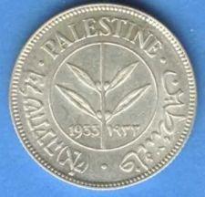 Buy Israel Palestine 50 Mils 1933 Silver Coin XF