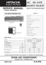 Buy Hitachi PM-0147E Service Manual by download Mauritron #263848