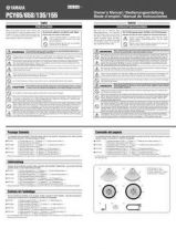Buy Yamaha PCY65 65S 135 155 EN DE FR ES OM A0(1) Operating Guide by download Maur