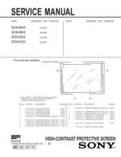 Buy Sony SCN-61X2 Technical Manual. by download Mauritron #243832