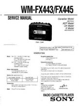 Buy Sony WM-FX433-FX435 Service Manual. by download Mauritron #245815