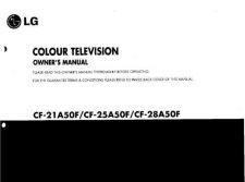Buy GOLDSTAR CE20J3RX 210D-EN Service Information by download #112165
