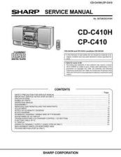 Buy Sharp CDC410H-CPC410 Service Manual by download Mauritron #208486