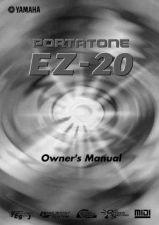 Buy Yamaha EZ20E Operating Guide by download Mauritron #247912