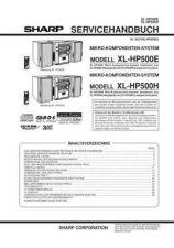 Buy Sharp. XLHP500E-H_SM_DE(1) Manual by download Mauritron #212150
