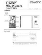 Buy KENWOOD LS-M61 Technical Information by download #118778