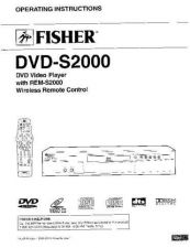 Buy Fisher DVD-9201-02 Service Manual by download Mauritron #215614