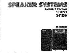 Buy Yamaha S4115HE Operating Guide by download Mauritron #249890
