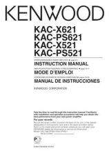 Buy Kenwood KAC-PS521 by download Mauritron #221391