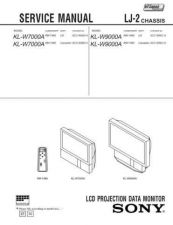 Buy Sony KL-W9000A Manual by download Mauritron #229325