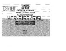 Buy Yamaha YCR-515S Operating Guide by download Mauritron #250286