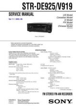 Buy Sony STR-H100 Service Manual. by download Mauritron #245148