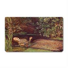 Buy Ophelia Hamlet Suicide Millais Art Vinyl Fridge Magnet