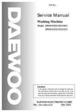 Buy Daewoo. SM_DWF-5550_(E). Manual by download Mauritron #213476