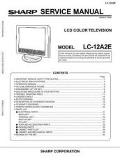 Buy Sharp LC12A2U (1) Service Manual by download Mauritron #209780