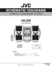 Buy JVC HX-Z30sch Service Manual Schematic Circuit. by download Mauritron #271119