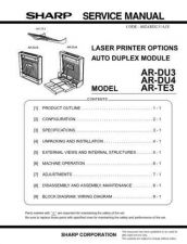 Buy Sharp AR335003 Manual by download Mauritron #211992