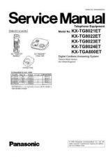 Buy Panasonic KX-TG8301HGM KX-TGA830FXM by download Mauritron #267456
