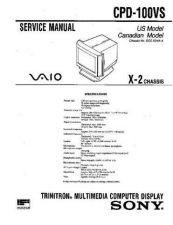Buy Sony CDP-100VS Service Manual by download Mauritron #237202