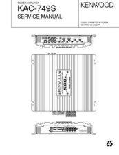 Buy KENWOOD KAC-749S by download #101392