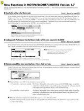 Buy Yamaha MOTIFV17E Operating Guide by download Mauritron #248793