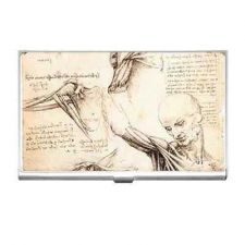 Buy Anatomy Study Leonardo Da Vinci Art Business Credit Card Case