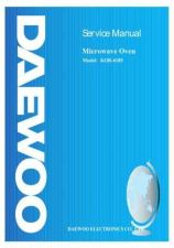 Buy Daewoo. SM_KOR-637V_(E). Manual by download Mauritron #213769