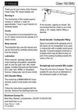 Buy Graham Farish Class 150 DMU Information by download Mauritron #206140