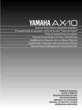 Buy Yamaha AX-10 Operating Guide by download Mauritron #246766
