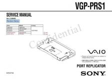 Buy Sony VGP-PRS1 Service Manual by download Mauritron #241930