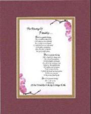 Buy Heartfelt Poem for Friends - The Blessing of Friendship .. 11x14 Double Matting